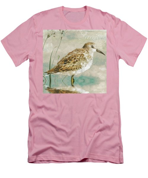 Sandpiper I Men's T-Shirt (Slim Fit) by Mindy Sommers