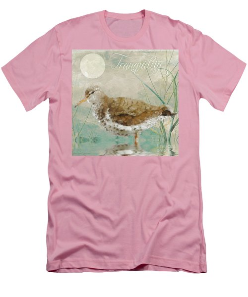 Sandpiper II Men's T-Shirt (Slim Fit) by Mindy Sommers