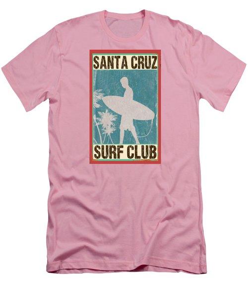 Santa Cruz Surf Club Men's T-Shirt (Slim Fit) by Greg Sharpe