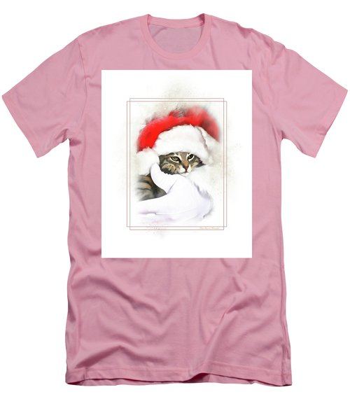 Santa's Helper Men's T-Shirt (Athletic Fit)