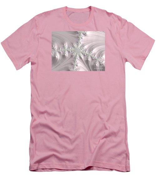 Satin Men's T-Shirt (Slim Fit) by Elaine Teague