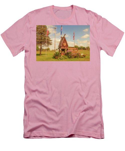 Scandy Memorial Park Men's T-Shirt (Slim Fit) by Trey Foerster