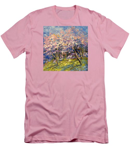 Scented Blooms Men's T-Shirt (Slim Fit) by Tatiana Iliina