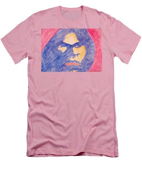 Self Portrait Men's T-Shirt (Slim Fit) by Jose Rojas
