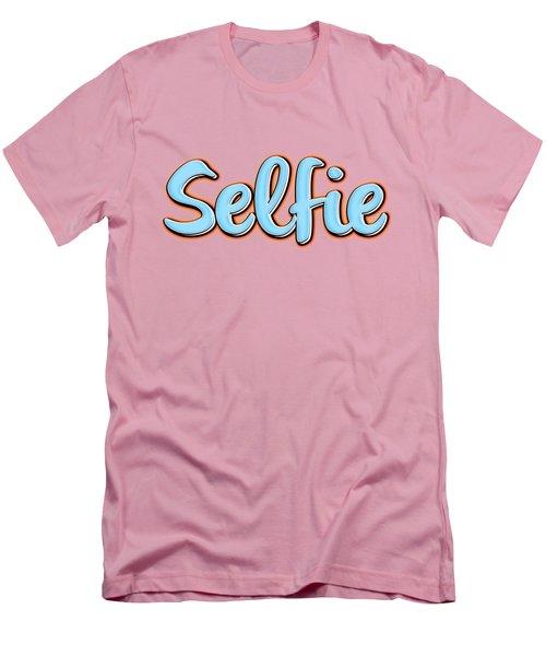 Selfie Tee Men's T-Shirt (Slim Fit) by Edward Fielding