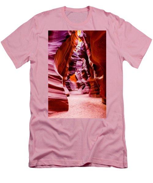 Serene Light Men's T-Shirt (Slim Fit) by M G Whittingham