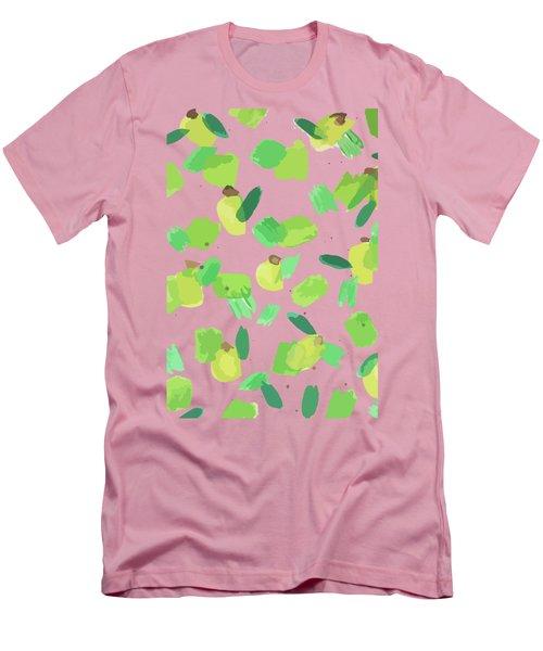 Series Pink 007 Men's T-Shirt (Athletic Fit)