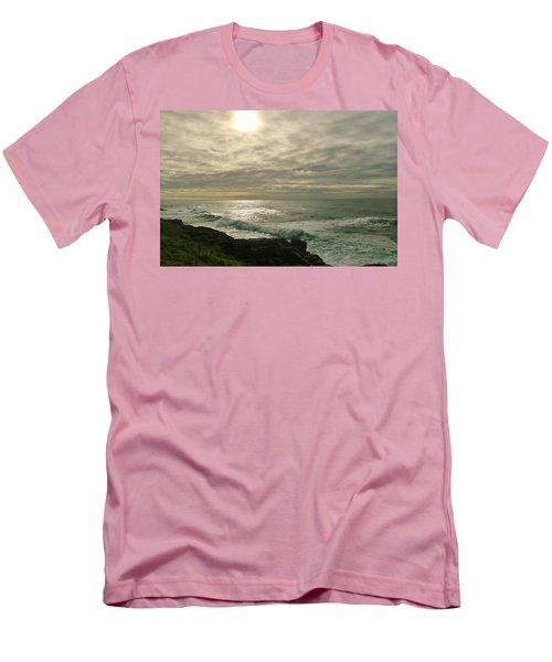 Shimmery  Light Men's T-Shirt (Athletic Fit)
