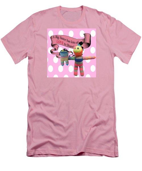 Sister Love Men's T-Shirt (Slim Fit) by Ellen Silberlicht