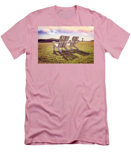 Men's T-Shirt (Slim Fit) featuring the photograph Sitting In The Sun by Debra and Dave Vanderlaan