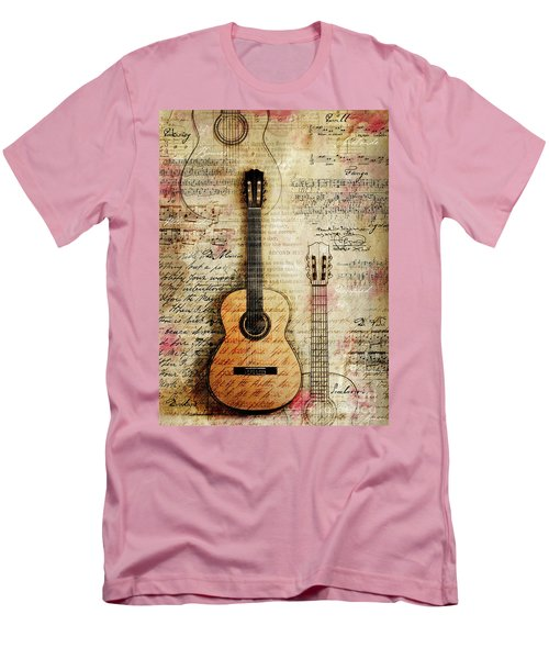 Six String Sages Men's T-Shirt (Athletic Fit)
