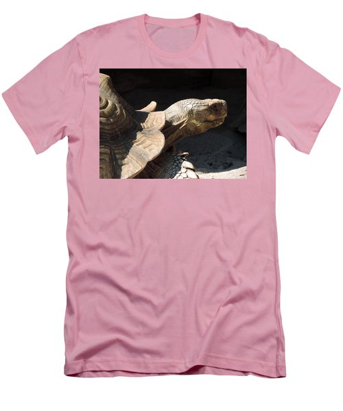 Men's T-Shirt (Slim Fit) featuring the photograph Slow But Sure by Teresa Schomig