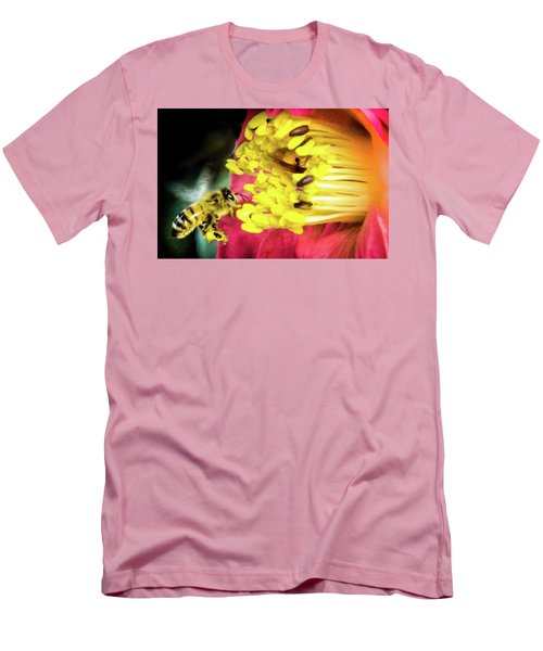 Men's T-Shirt (Slim Fit) featuring the photograph Soul Of Life by Karen Wiles