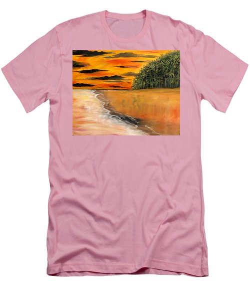 South Paciffic Men's T-Shirt (Slim Fit) by Lisa Aerts