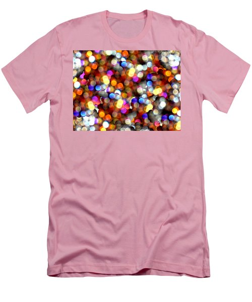 Sparkles #8885_4 Men's T-Shirt (Slim Fit) by Barbara Tristan