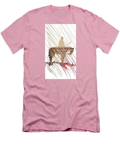 Spirit Animal . War Horse  Men's T-Shirt (Slim Fit) by John Jr Gholson