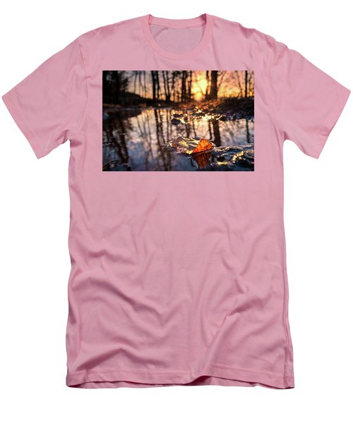 Spring Puddles Men's T-Shirt (Slim Fit) by Craig Szymanski
