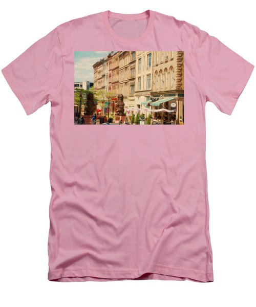 Springtime In Halifax Men's T-Shirt (Slim Fit) by Jeff Kolker