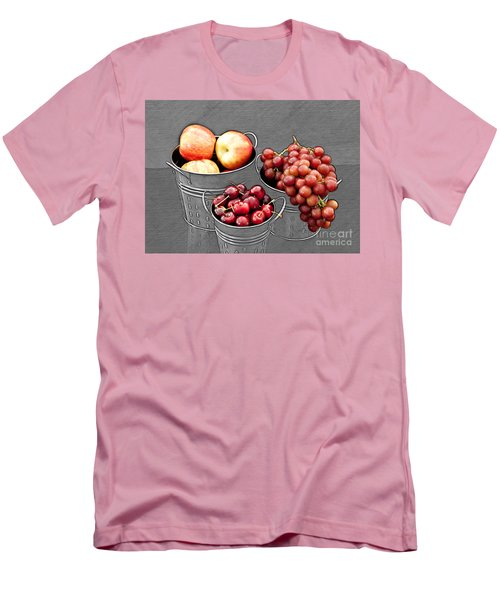 Men's T-Shirt (Slim Fit) featuring the photograph Standing Out As Fruit by Sherry Hallemeier