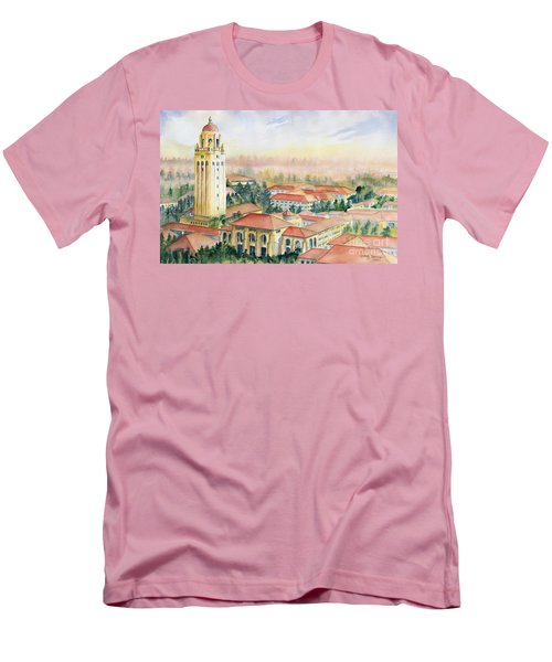 Stanford University California Men's T-Shirt (Slim Fit) by Melly Terpening