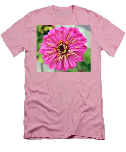 State Fair Zinnia Men's T-Shirt (Slim Fit) by Steve Archbold