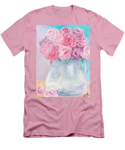 Study  Men's T-Shirt (Slim Fit) by Reina Resto