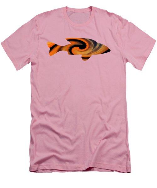 Sunrise Fish Men's T-Shirt (Athletic Fit)