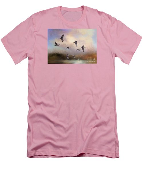 Sunrise Flight Men's T-Shirt (Athletic Fit)