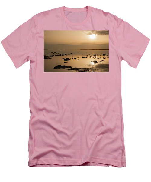 Sunrise On The Dead Sea Men's T-Shirt (Athletic Fit)