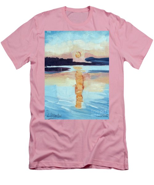 Sunset On Vancouver Island Men's T-Shirt (Athletic Fit)