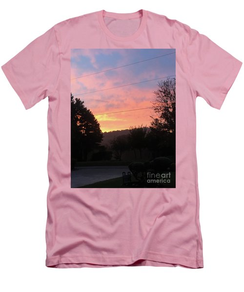 Sunshine Without The Fog Men's T-Shirt (Athletic Fit)