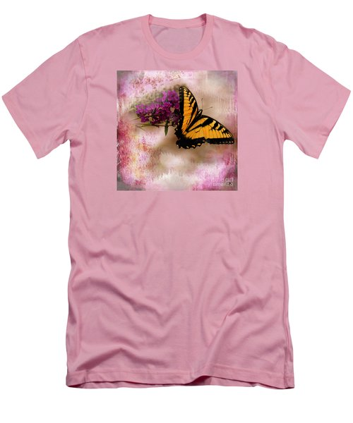 Swallow Tail Full Of Beauty Men's T-Shirt (Athletic Fit)