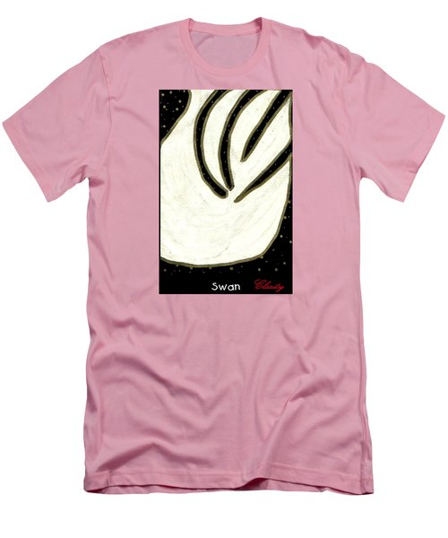 Swan Men's T-Shirt (Slim Fit) by Clarity Artists
