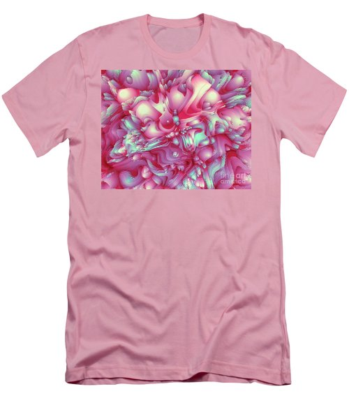 Sweet Flowers 2 Men's T-Shirt (Slim Fit) by Moustafa Al Hatter
