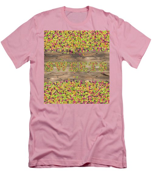 Sweets Men's T-Shirt (Slim Fit) by La Reve Design