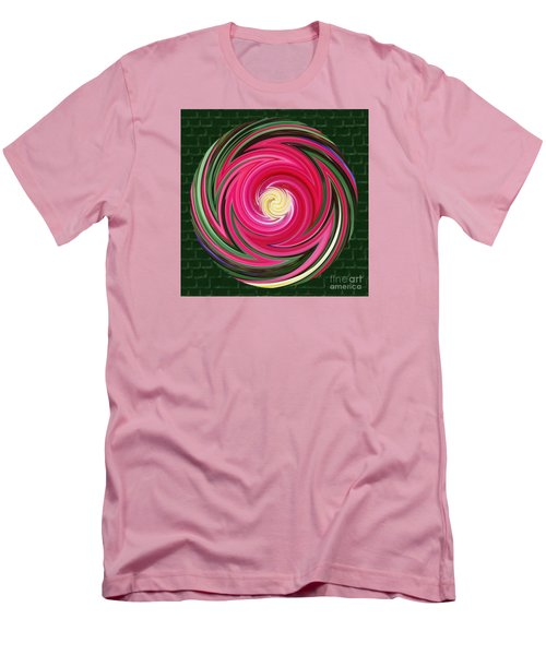 Swirls Of Color Men's T-Shirt (Athletic Fit)