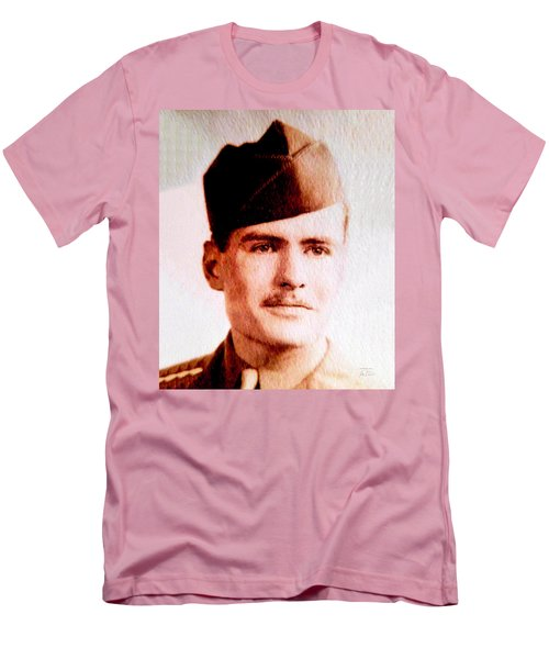 Tawson Clare Wall Avon Wwii Hero Men's T-Shirt (Athletic Fit)