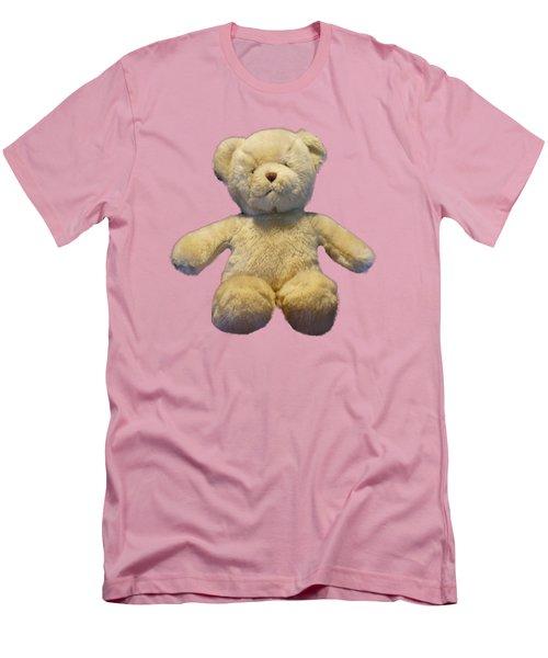 Teddy Bear Men's T-Shirt (Slim Fit) by Pamela Walton