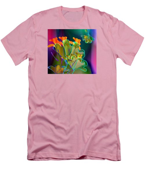 Thanksgiving Bouquet Men's T-Shirt (Slim Fit) by Iris Gelbart