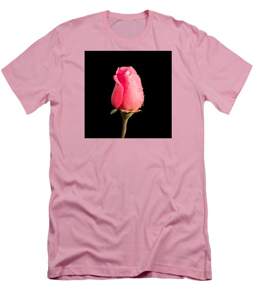 The Beauty Of A Rose Men's T-Shirt (Slim Fit) by Ed Clark