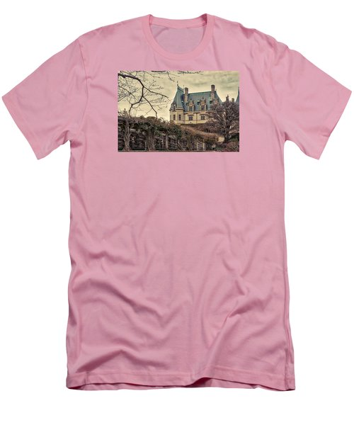 The Biltmore Mansion In The Fall Men's T-Shirt (Slim Fit) by Robert FERD Frank