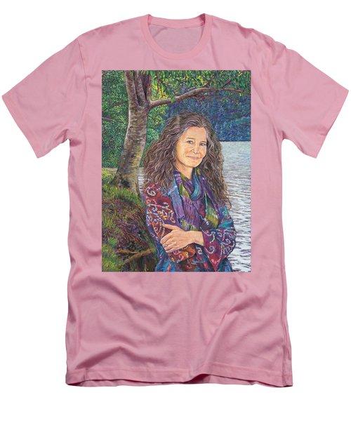 The Color Violet Men's T-Shirt (Athletic Fit)