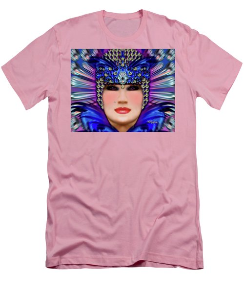 Men's T-Shirt (Athletic Fit) featuring the photograph The Empress Barbaka #192 by Barbara Tristan
