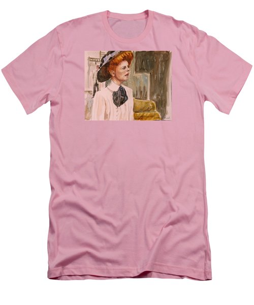 The Girl In The Movies Men's T-Shirt (Slim Fit) by P Maure Bausch