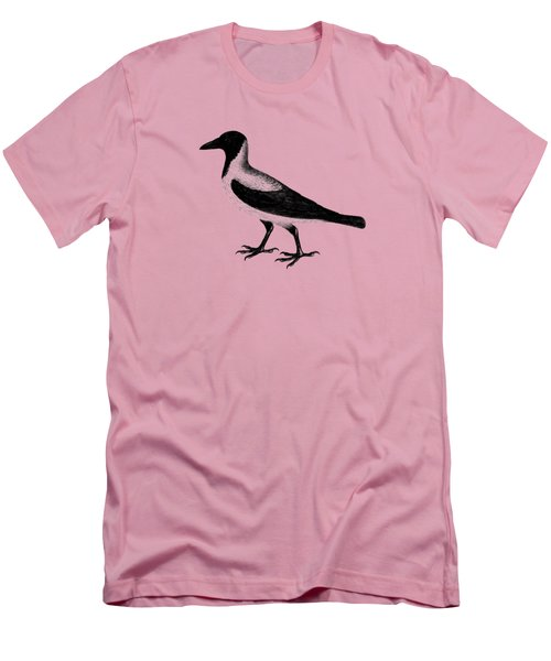 The Hooded Crow Men's T-Shirt (Slim Fit) by Mark Rogan