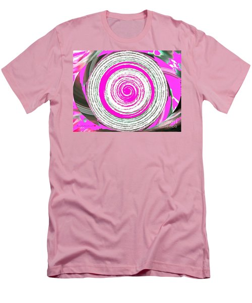 Men's T-Shirt (Slim Fit) featuring the painting The Noise by Catherine Lott