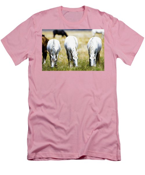 The Three Amigos Grazing Men's T-Shirt (Athletic Fit)