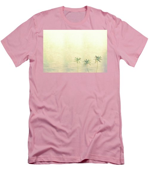Three Palms In Color Men's T-Shirt (Athletic Fit)