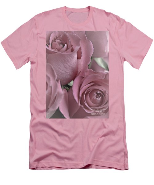 To My Sweetheart Men's T-Shirt (Slim Fit) by Sherry Hallemeier