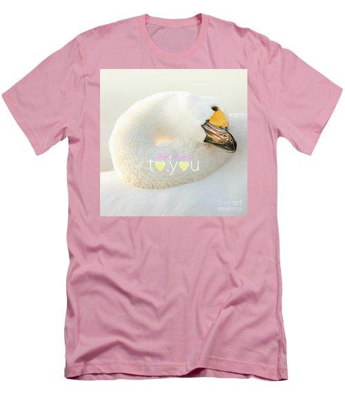 Men's T-Shirt (Slim Fit) featuring the photograph To You #001 by Tatsuya Atarashi